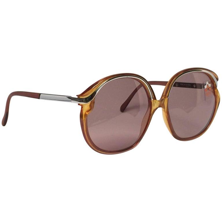 New Vintage Optyl Oversized Boho Sunglasses 1970's Made in Austria