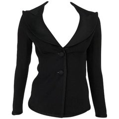 2000s Dolce & Gabbana Black Stylish Jacket Blazer