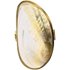 Mother of Pearl Clutch Evening Bag