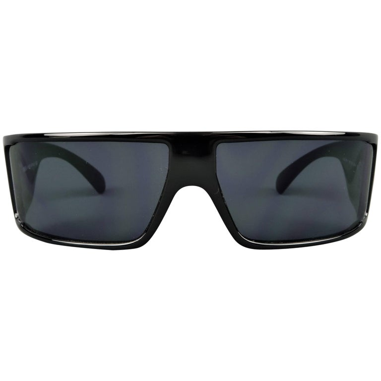 VERSUS by GIANNI VERSACE Black Acetate Mod. EW1 Sunglasses
