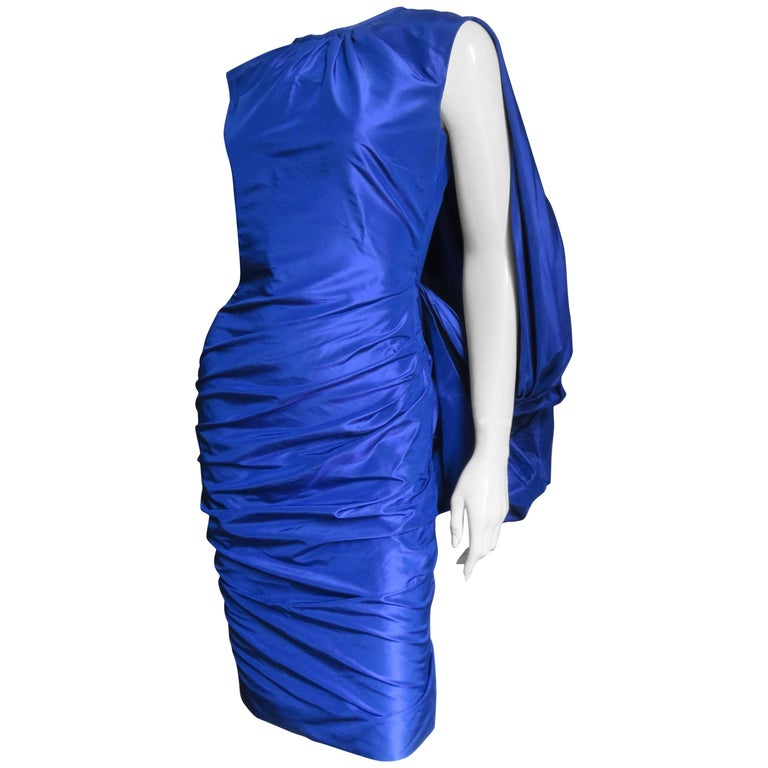 Tom Ford Stunning Drape Back Ruched Dress
