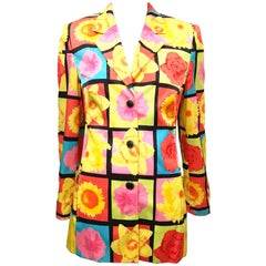 Laurel Yellow Floral Blazer