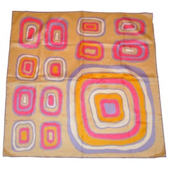 Mod Multi-Color Abstract Scarf