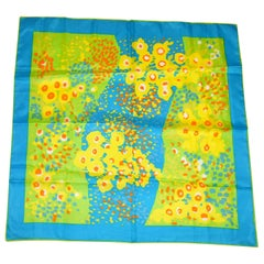 "Whimsical and Cheerful ""Summertime Blooms"" Scarf"
