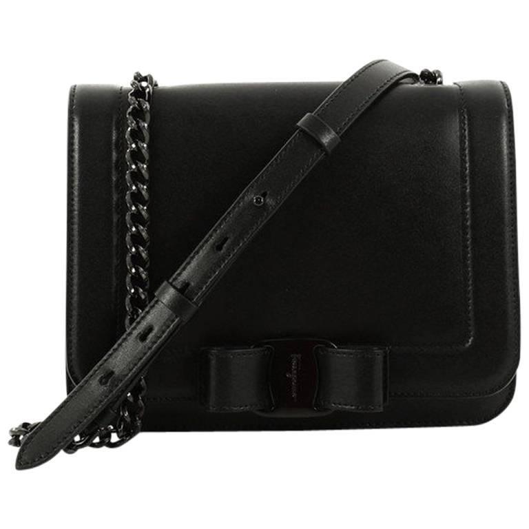 715080ed7869 Salvatore Ferragamo Vara Rainbow Crossbody Bag Leather Small at 1stdibs