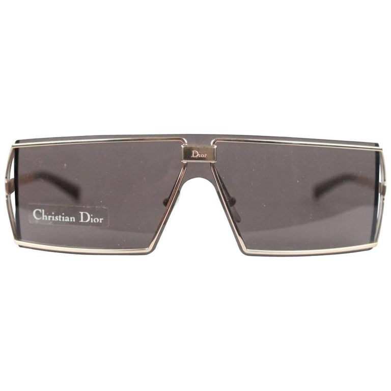 Christian Dior Troika Side Shields Vintage Sunglasses