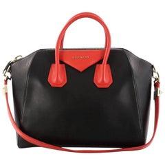 Givenchy Bicolor Antigona Bag Leather Medium