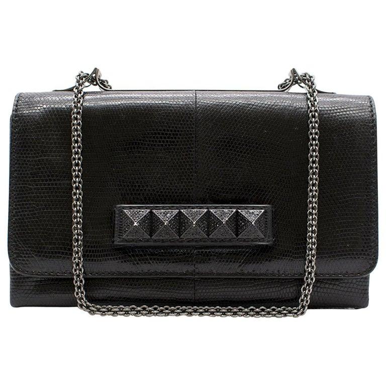 Valentino Black Evening Bag For