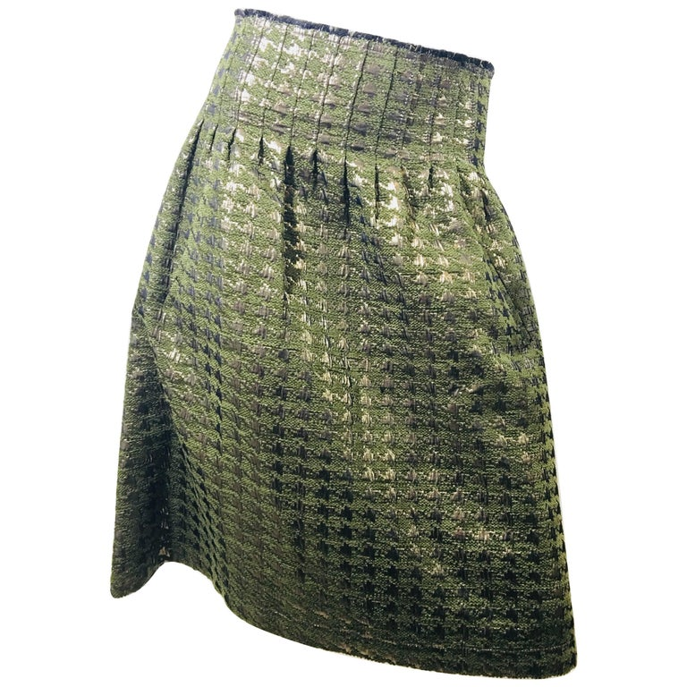 Lela Rose High Waist Skirt