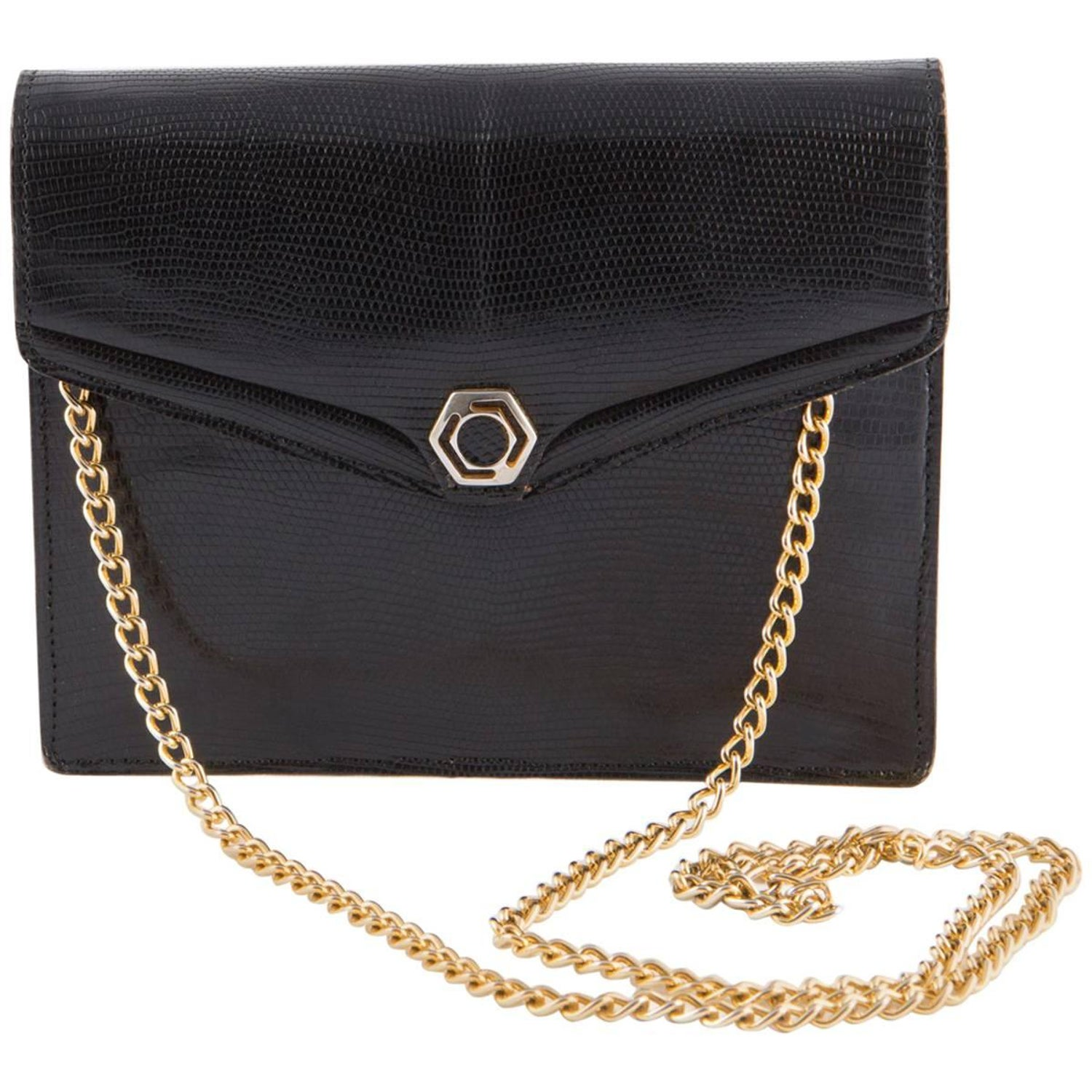 cbbf756d1229 1960s Black Evening Bag For Sale at 1stdibs