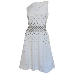 1960s Sydney North Dress with Studs