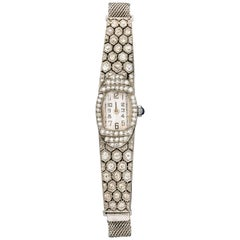 Art Deco Diamond Watch and Band