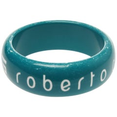 Roberto Cavalli 'CLASS' Blue Bangle