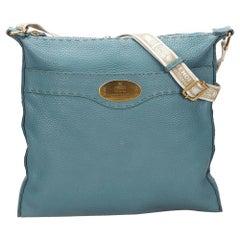 Fendi Blue Selleria Crossbody Bag