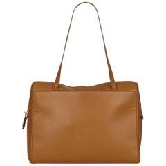 Chanel Brown Leather Shoulder Bag