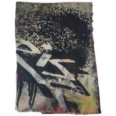 CHANEL Graffiti Shawl in Multicolored Cashmere