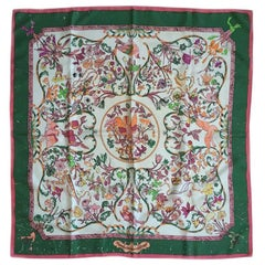 HERMES 'Pierres d'Orient et d'Occident' Scarf in Silk