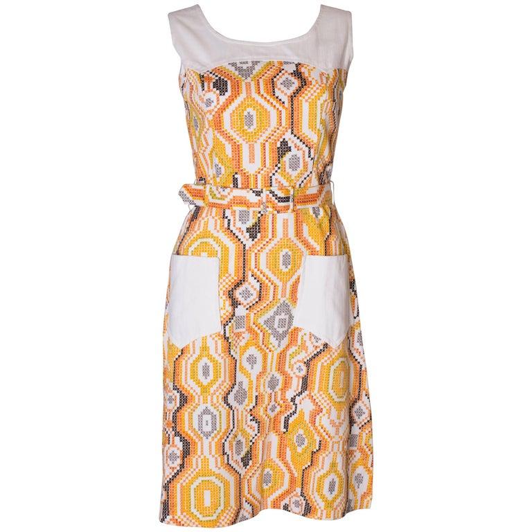 Vintage Summer Dress For Sale