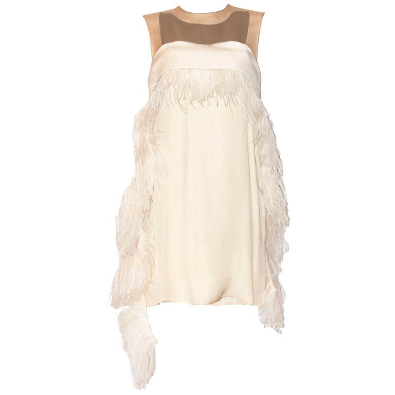 Celine Ivory Silk and Dress SS 13