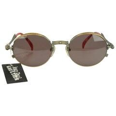 Jean Paul Gaultier Vintage Bronze Sunglasses JET 56-4175