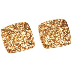 Chanel Vintage Clip-On Earrings