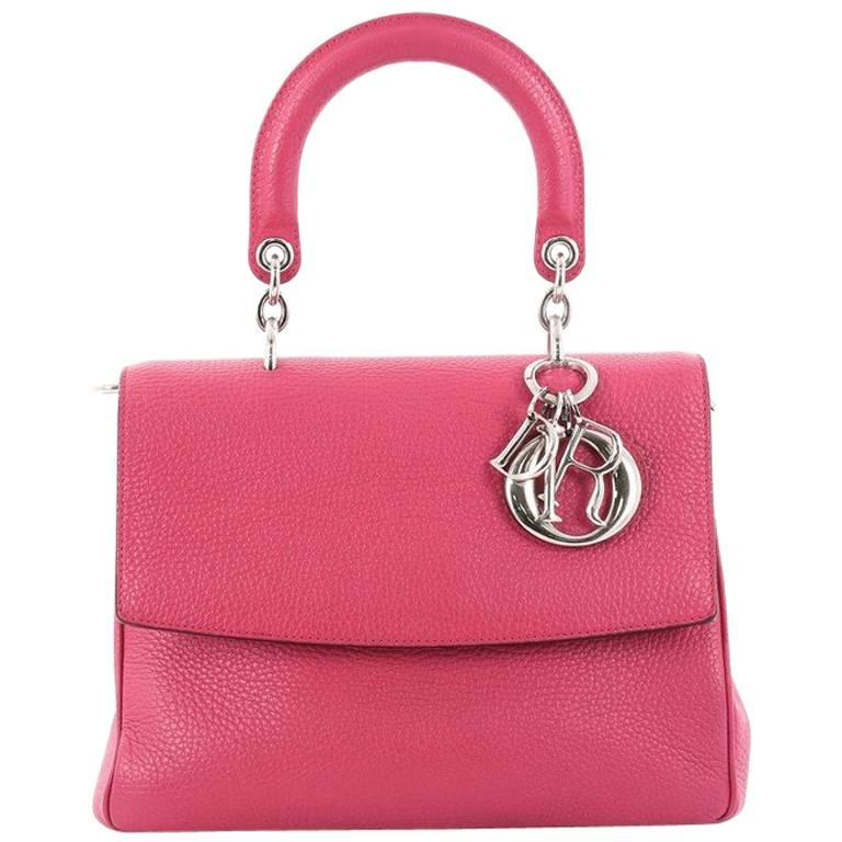 f3460afbca33 Christian Dior Be Dior Bag Pebbled Leather Small at 1stdibs