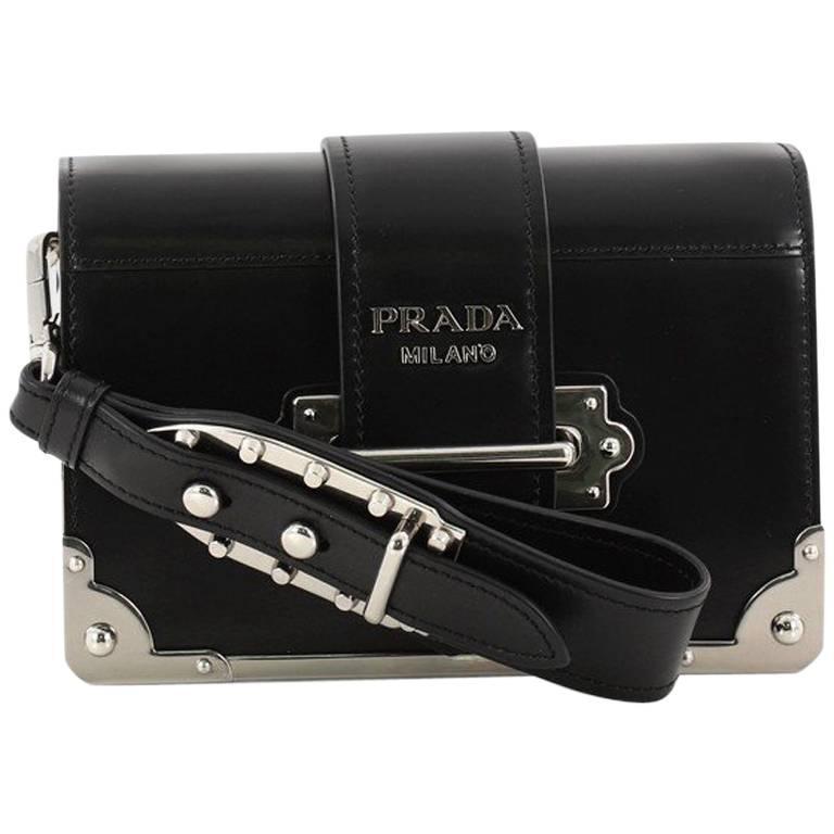 a35d5b07632f Prada Cahier Crossbody Bag City Calf Small at 1stdibs