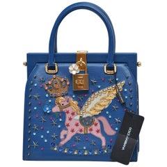 Rare Dolce & Gabbana Pegasus  Pomellato Runway Handbag  NEW