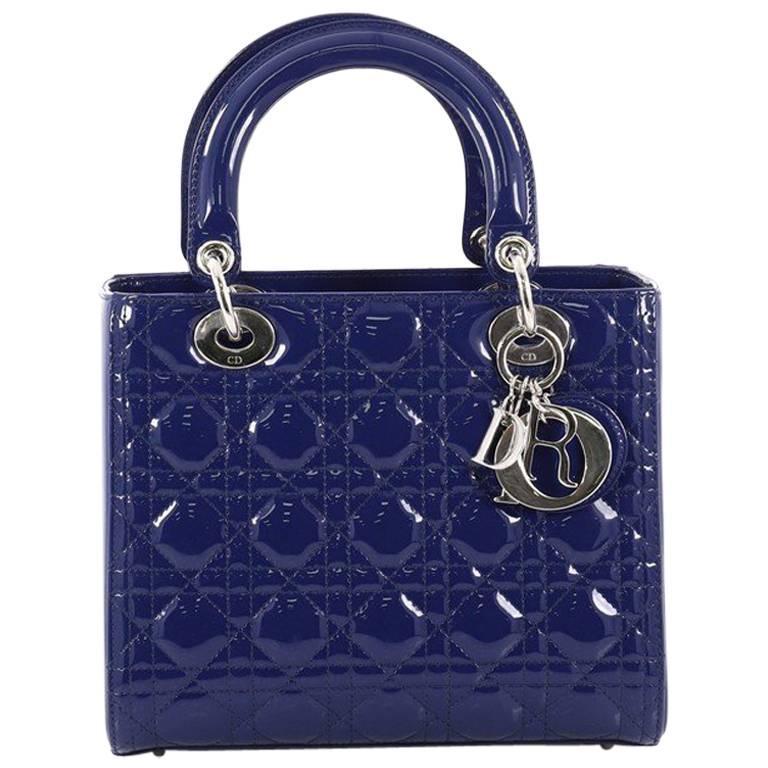 Monogramme Bleu Dior De Style Kelly Carryall Poignée Supérieure Sac Fourre-tout Sac Vente Magasin D'usine Pas Cher Choisissez Un Meilleur Nouvelle Visite Pas Cher zPTopn2e