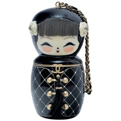Rare Chanel China Doll  Minaudière  Handbag Clutch Paris- Shanghai Collection