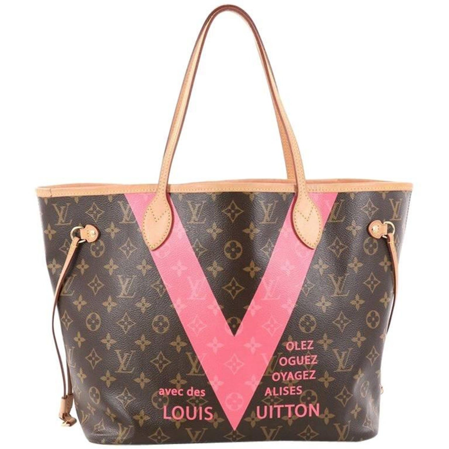 53da0d45ac97 Louis Vuitton Neverfull NM Tote Limited Edition Cities V Monogram Canvas MM  at 1stdibs