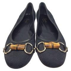 Gucci Black Flats