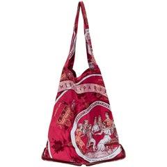 Hermès Burgundy Silky Pop Bag