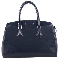 Louis Vuitton Soufflot NM Handbag Epi Leather MM