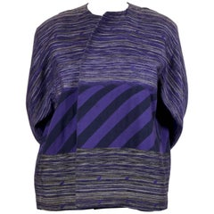 early 1980's ISSEY MIYAKE striped jacket