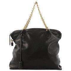 Louis Vuitton Lockit Chain Handbag Boudoir Leather