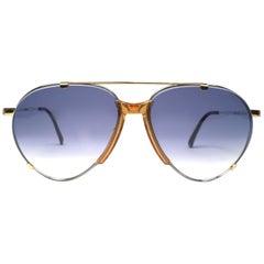 New Vintage Boeing by Carrera Aviator 5709 41 Large Sunglasses Austria