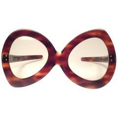 New Vintage Pierre Cardin Oversized Avantgarde Collector Item 1960's Sunglasses