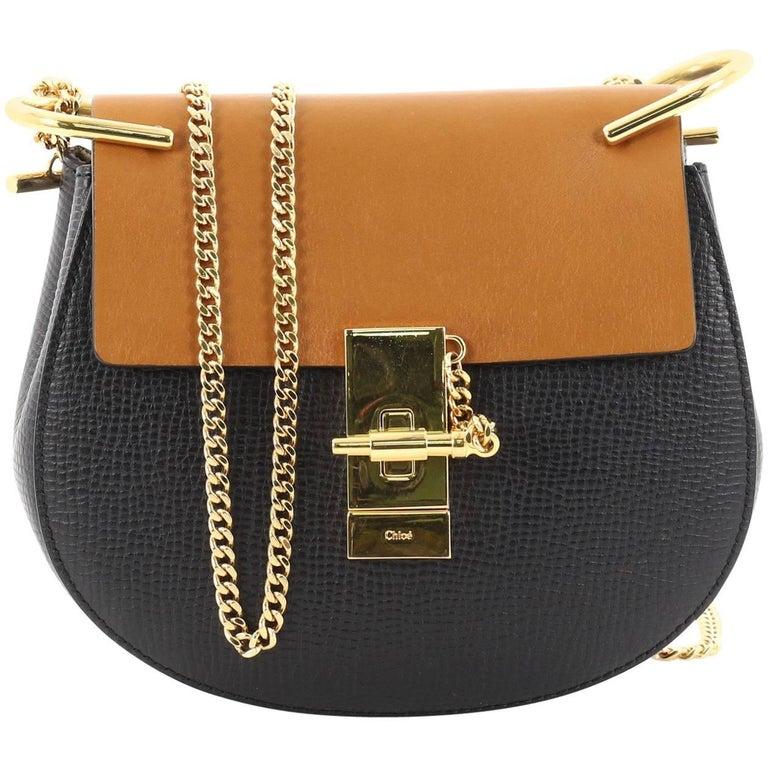 90a8e2d5 Chloe Drew Leather Mini Crossbody Bag