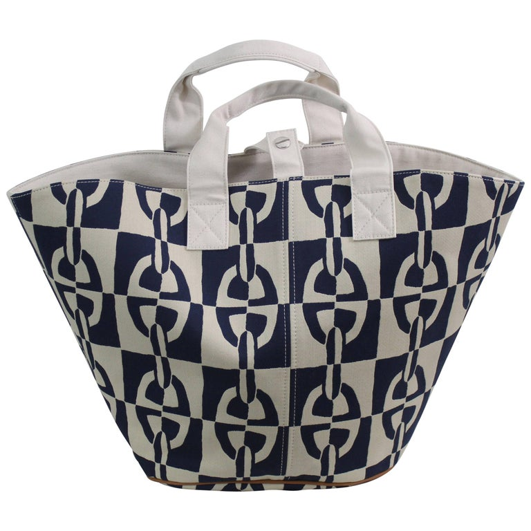 Hermes Chaine d'ancre  Beach Tote Bag