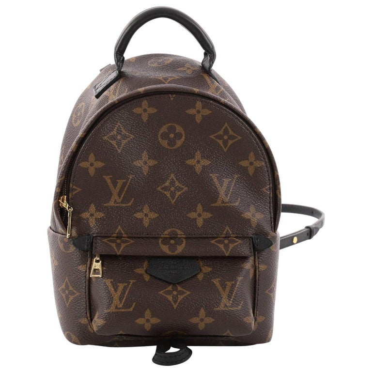 fd6affe74dcd Louis Vuitton Palm Springs Monogram Canvas Mini Backpack at 1stdibs