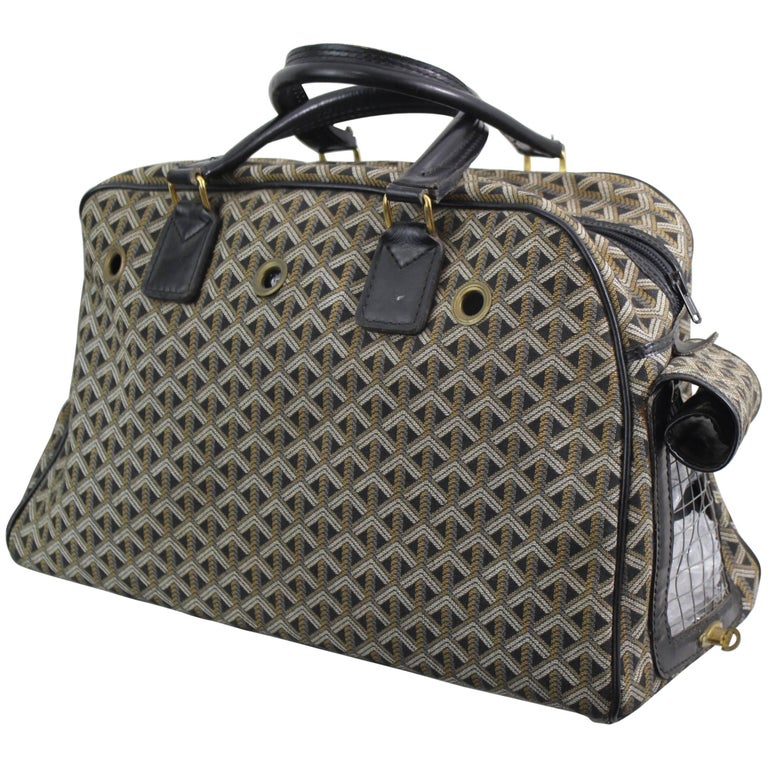 Goyard Vintage Monogram Canvas Pet Carrier S At Stdibs - How to create a paypal invoice goyard online store