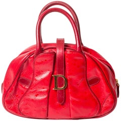 Christian Dior Red Mini Bag