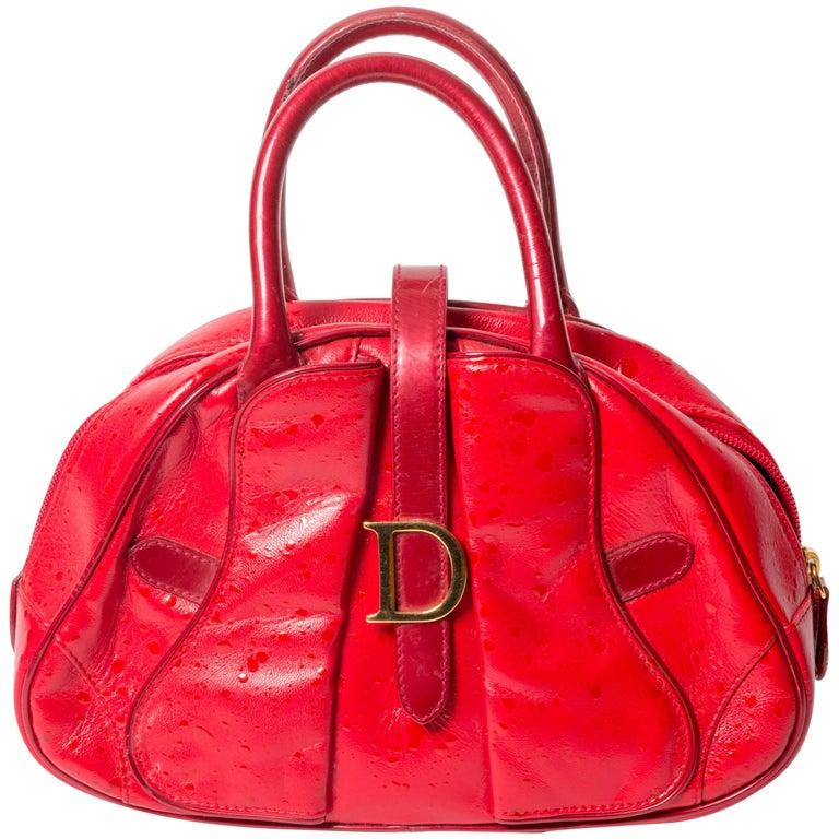 Christian Dior Red Mini Bag
