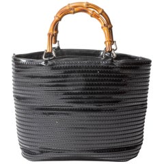 Gucci Bucket Tote with Bamboo Handles