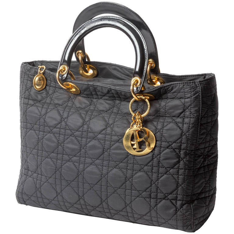 Christian Dior Lady Bag in Nylon
