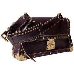 Louis Vuitton Plum Suhali le Talentueux Shoulder Bag