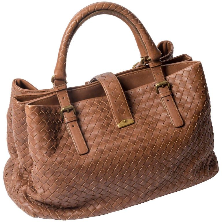 Bottega Veneta Medium Roma Satchel