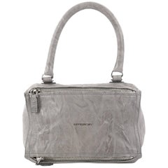 Givenchy Small Distressed Leather Pandora Bag