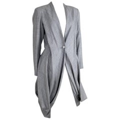 Issey Miyake Vintage 1980s Origami Tailcoat